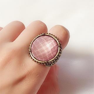 ザラ(ZARA)の指輪 リング 11号 ZARA ピンク アンティーク 風(リング(指輪))