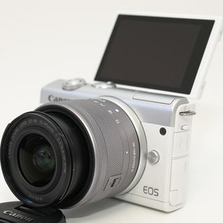 Canon - スマホ転送機能付♪キヤノン EOS M200