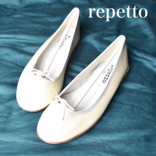 repetto - 【新品 未使用】repetto レペット リボン バレエシューズ