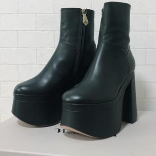 ヴィヴィアンウエストウッド(Vivienne Westwood)のVivienne Westwood フレディ アンクルブーツ 36(ブーツ)