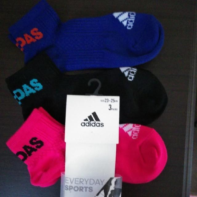 adidas(アディダス)のアディダス女性用靴下 レディースのレッグウェア(ソックス)の商品写真
