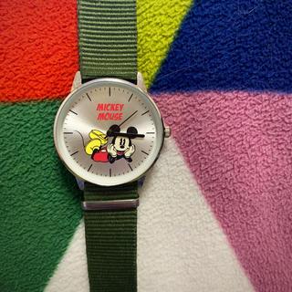タカラジマシャ(宝島社)のSpring 雑誌 付録 ディズニー ミッキー(腕時計)