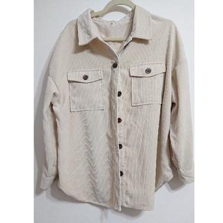 しまむら - しまむら コーデュロイシャツ L オフホワイト ユニクロ GU マウジー