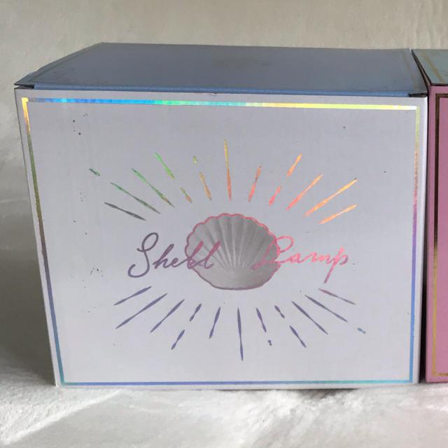 Francfranc(フランフラン)の新品【 フランフラン 】シェル ランプ 貝殻 ライト アクセサリートレイ 白 インテリア/住まい/日用品のライト/照明/LED(その他)の商品写真
