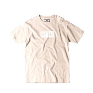 正規品 KITH キス クラシックボックスロゴTシャツ サンド