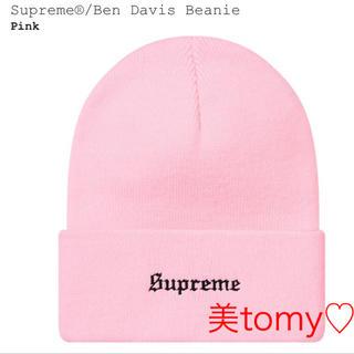 シュプリーム(Supreme)のシュプリーム Supreme Ben Davis Beanieニット帽 キャップ(ニット帽/ビーニー)