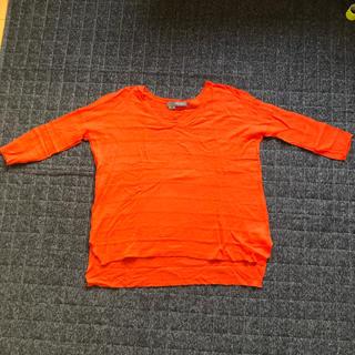 ジャーナルスタンダード(JOURNAL STANDARD)のカシミアセーター オレンジ色(ニット/セーター)