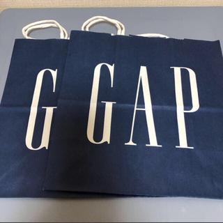 ギャップ(GAP)のGAP ギャップ ショップ袋 2枚(ショップ袋)