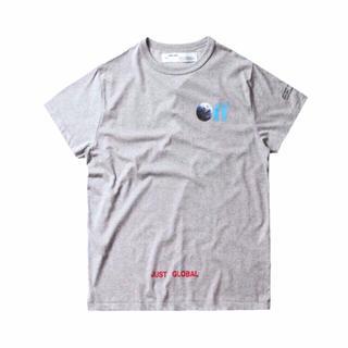 正規品 KITH × OFF-WHITE キス オフホワイト コラボロゴTシャツ