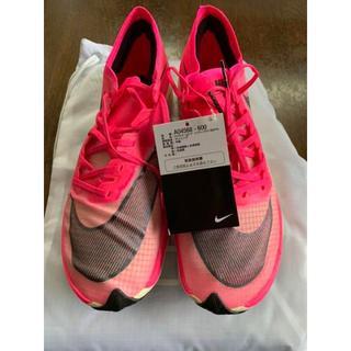 ナイキ(NIKE)の新品 Nike ZoomX Vaporfly NEXT% 26.5cm ピンク(スニーカー)