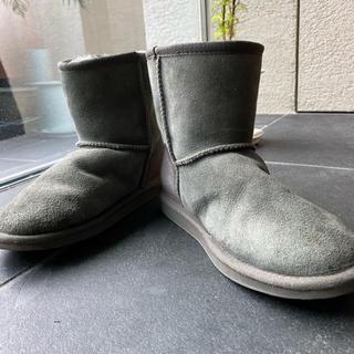 エミュー(EMU)のemu ムートンブーツ サイズ6 チャコール(ブーツ)