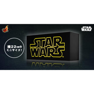 Disney - STAR WARS スターウォーズ ロゴ ミニライトボックス ホットトイズ