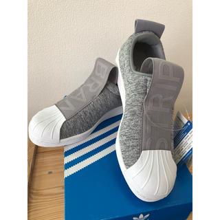 アディダス(adidas)のお値下げしました!新品未使用 adidas スニーカー スリッポン 24センチ (スニーカー)