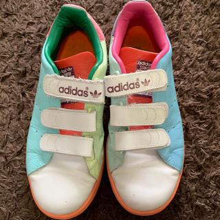 アディダス(adidas)のadidas スタンスミス マルチカラー 24.5cm  ※11/19終了(スニーカー)