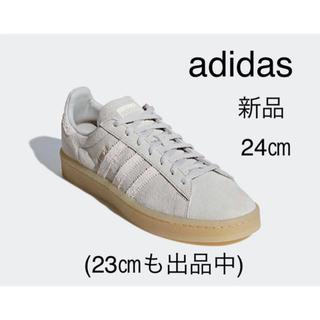 アディダス(adidas)の新品 24㎝ adidas アディダス キャンパス スエード(スニーカー)