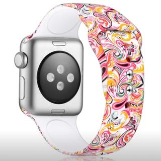 アップルウォッチ(Apple Watch)のアップルウォッチ バンド Apple watch シリコン 40mm (腕時計)