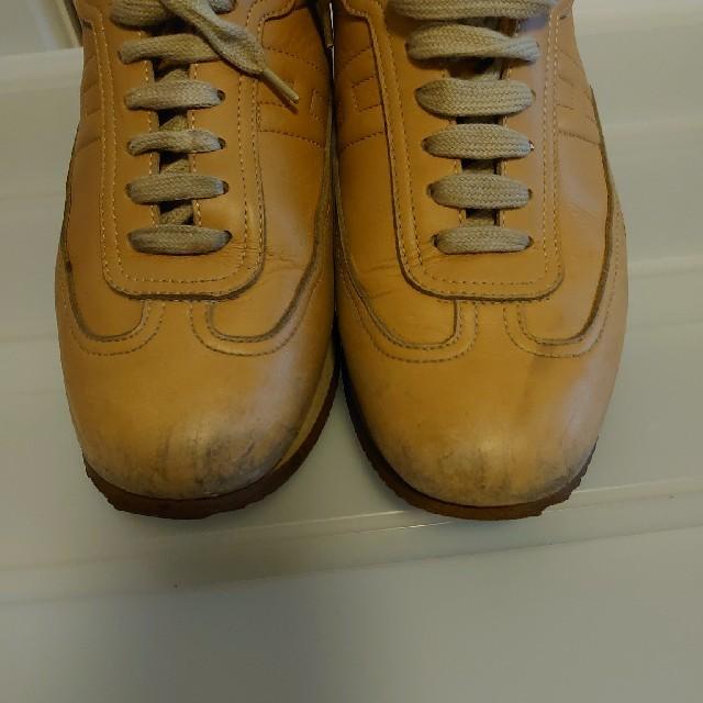 Hermes(エルメス)のエルメスクイックレザースニーカー 38,5 レディースの靴/シューズ(スニーカー)の商品写真