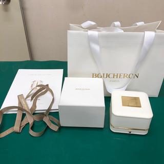 ブシュロン(BOUCHERON)のブシュロンBOUCHERONの箱 袋 リボン カタログ(ショップ袋)
