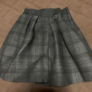 リナシメント(RINASCIMENTO)のボンディング生地のスカート(ミニスカート)