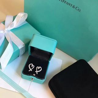 Tiffany & Co. - TIFFANY&Coイヤリング Loving heart