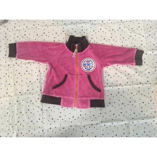 サンカンシオン(3can4on)のパーカー 上着 女の子 80(ジャケット/上着)