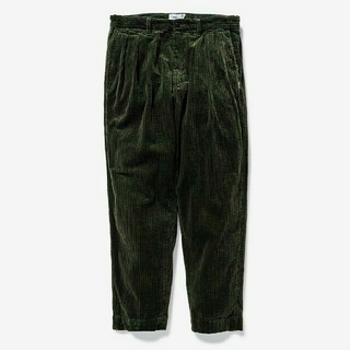 W)taps - wtaps TUCK 02 / TROUSERS. COTTON.