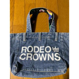 RODEO CROWNS WIDE BOWL - RCWBリバーシブルデニムバック