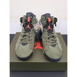 ナイキ(NIKE)のNIKE AIR JORDAN 6 TRAVIS SCOTT 27cm(スニーカー)