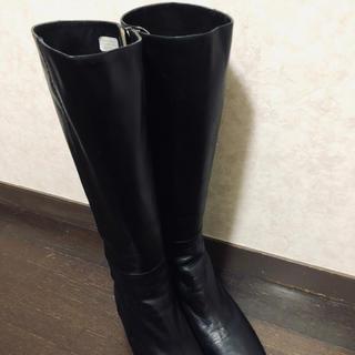 リーガル(REGAL)の新品同様リーガルブーツ22.5黒(ブーツ)