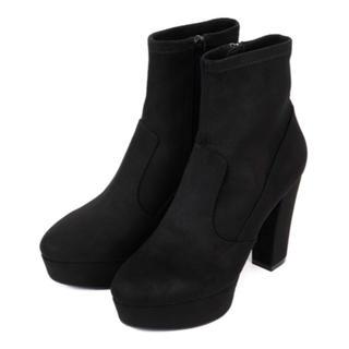 R&E - ★新品★★痛くない&歩きやすい スェード ブーツ ブラック M
