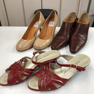 ランバン(LANVIN)のwater massage LANVIN TRUSSARDI 靴(22.0cm)(ハイヒール/パンプス)