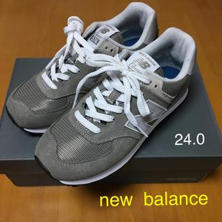 ニューバランス(New Balance)の【新品】ニューバランス☆WL574EG☆24センチ(スニーカー)