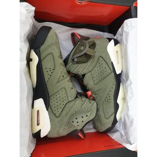 ナイキ(NIKE)のTRAVIS SCOTT x NIKE AIR JORDAN 6 (26cm)(スニーカー)