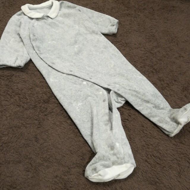 COMME CA ISM(コムサイズム)のCOMME CA ISM あしつきカバーオール70 キッズ/ベビー/マタニティのベビー服(~85cm)(カバーオール)の商品写真