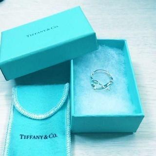 ティファニー(Tiffany & Co.)の☆新品☆未使用☆ティファニー ダブルラビングハートリング8号(リング(指輪))