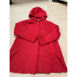 サマンサモスモス(SM2)のSM2   赤いコート(ロングコート)