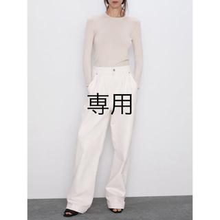 ZARA - 【新品・未使用】ZARA ベーシック長袖セーター