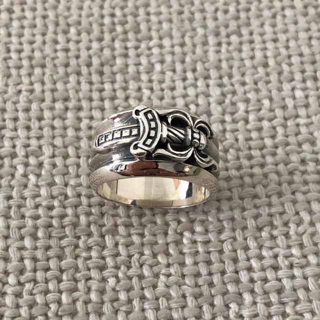 Chrome Hearts(クロムハーツ)のクロムハーツ ダガーリング メンズのアクセサリー(リング(指輪))の商品写真