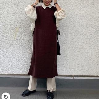 【即完売商品】ローリーズファーム 今季 サイドムスビワンピ