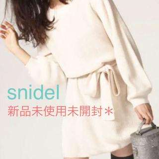 snidel - *スナイデル ニットワンピース*