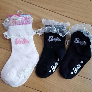 バービー(Barbie)のバービー靴下9~15㎝(靴下/タイツ)