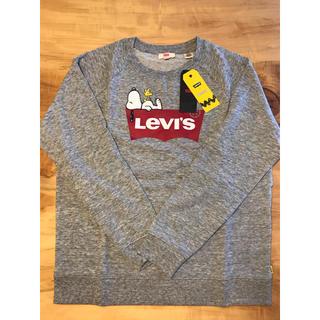 Levi's - 【Mサイズ】新品未使用 リーバイス×ピーナッツ トレーナー スウェット グレー
