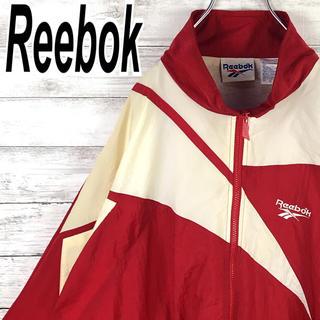 Reebok - リーボック ナイロン デカロゴ ビッグベクター 90s オーバーサイズ レア