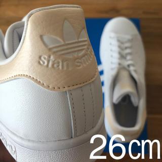 アディダス(adidas)の【レア】 希少カラー 26㎝ アディダス スタンスミス ホワイト ゴールド(スニーカー)