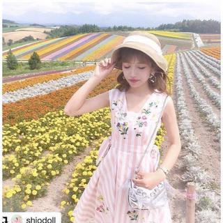 Chesty - 値下げ☆新品Chesty(チェスティ) 刺繍ジャンパースカート