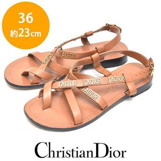 Christian Dior - クリスチャンディオール J'ADIOR レザー サンダル 36(約23cm)