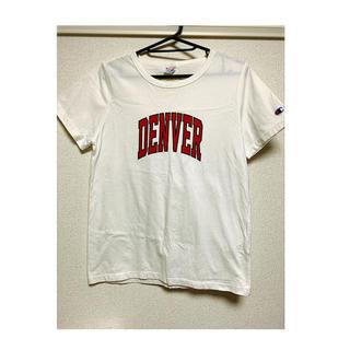 アングリッド(Ungrid)のungrid  champion Tシャツ(Tシャツ/カットソー(半袖/袖なし))