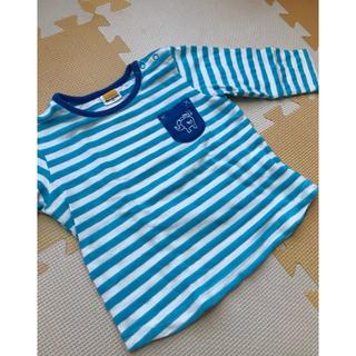ムージョンジョン(mou jon jon)のmou jon jon  長袖カットソー 80(Tシャツ)