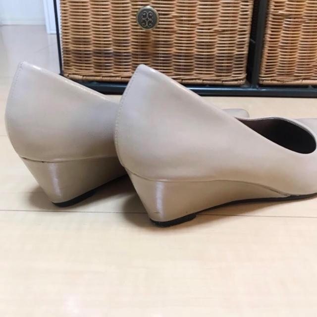 《走れるパンプス》ウェッジソール パンプス レディースの靴/シューズ(ハイヒール/パンプス)の商品写真