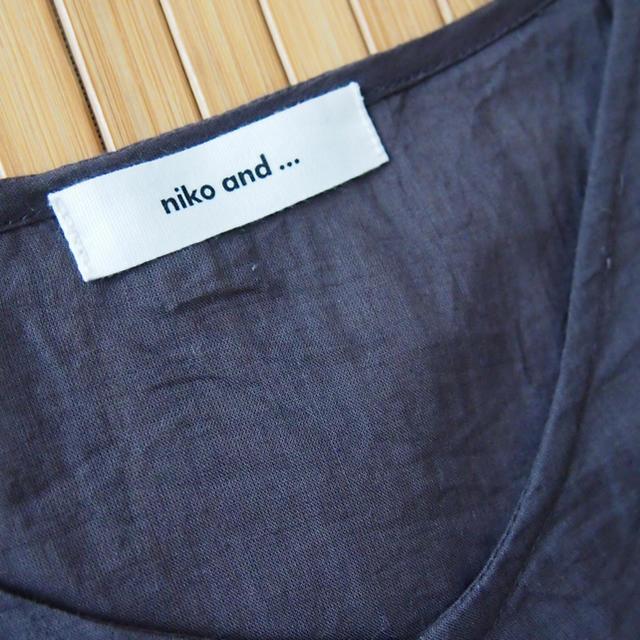 niko and...(ニコアンド)のniko and… ニコアンド ブラウス レディースのトップス(シャツ/ブラウス(長袖/七分))の商品写真